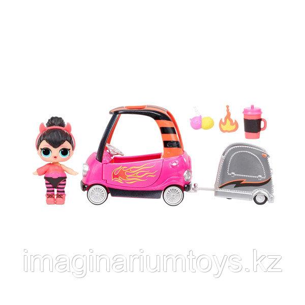 Игровой набор LOL Surprise Машина с прицепом с куклой ЛОЛ и аксессуарами - фото 2