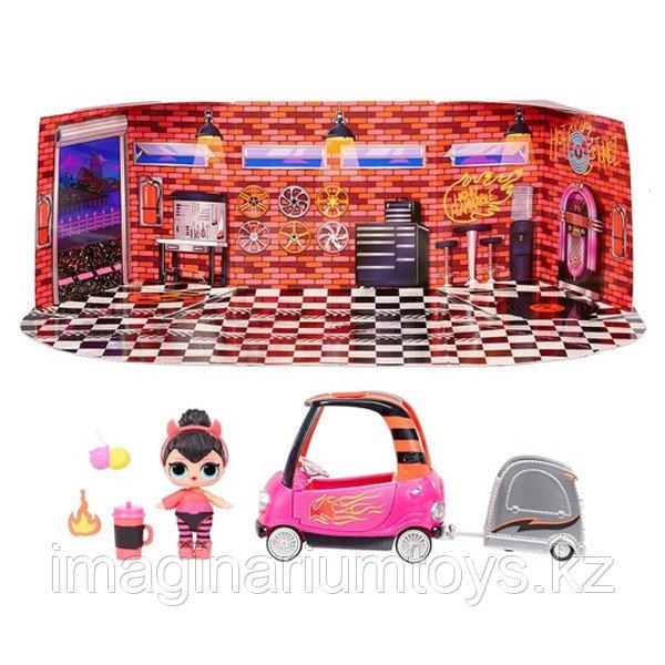 Игровой набор LOL Surprise Машина с прицепом с куклой ЛОЛ и аксессуарами - фото 1