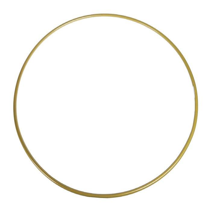 Обруч гимнастический золотой, стальной, d=900 мм