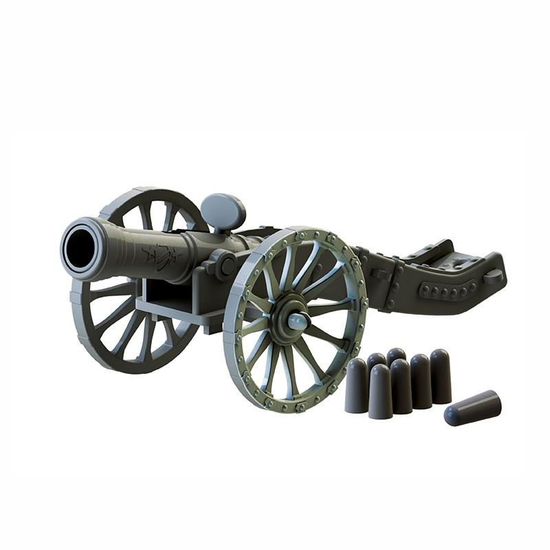 """Биплант Игровой набор военный для игры в солдатиков """"Пушка"""""""