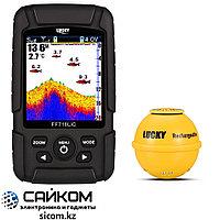 Эхолот для рыбалки Lucky FF718LiC-WLA, Дальность до 100 метров