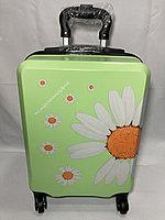 Детский чемодан на колесах для девочек,6-8 лет. Высота 46 см, ширина 31 см, глубина 21 см., фото 1