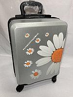 Детский чемодан для девочек на колесах, 6-8 лет. Высота 46 см, ширина 31 см, глубина 21 см., фото 1