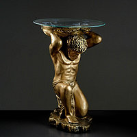 "Подставка - стол ""Титан"" бронза 74 см ПОЛИСТОУН"