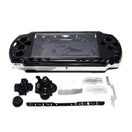 Корпус PSP 2000 Slim  передняя и задняя части