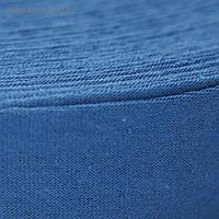"""Пряжа трикотаж. """"Ролик"""" 85м/320±15гр, ширина нити 30 мм (синий)"""