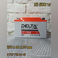 Аккумулятор Delta CT 1208 (12V / 8Ah) [YT7B-BS, YT7B-4, YT9B-BS]
