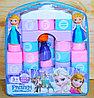 Упаковка повреждена!!! JX6664 Конструктор Frozen в рюкзаке 3 фигурки 26*23