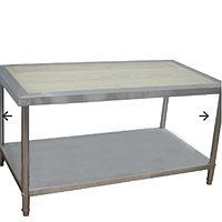 Деревянный разделочный стол 1.5