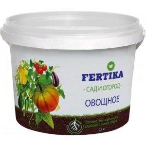 Удобрение ФЕРТИКА  ОМУ Овощное 0,9кг