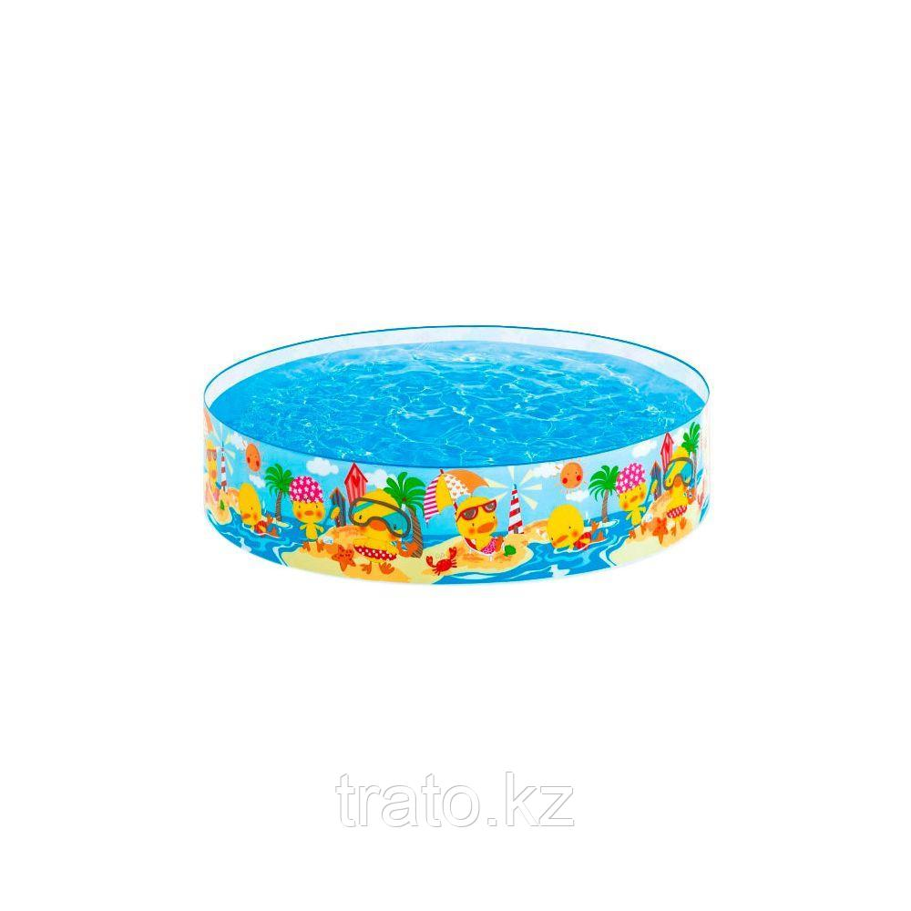 Детский бассейн с жёсткой стенкой Duckling 122 х 25 см
