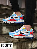 Крос Nike 270 голубой