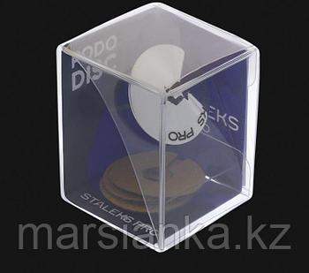 UPDset-25 Диск педикюрный зонтик STALEKS L в комплекте с сменным файлом 180 грит 5 шт (25 мм)