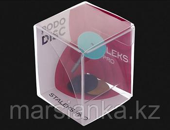 Диск педикюрный пластиковый STALEKS S, с сменным файлом 180 грит 5 шт (15 мм)