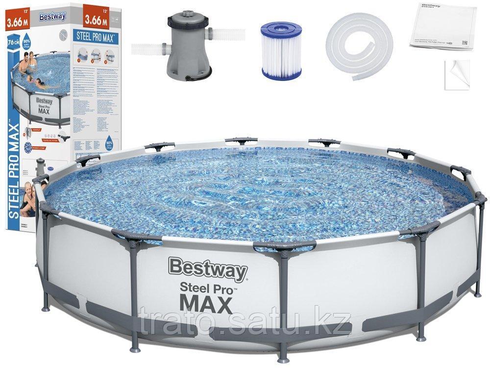 Каркасный бассейн Bestway366х76 с картриджным фильтром