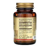 Solgar, натуральный витамин K2, 100 мкг, 50 растительных капсул, фото 2