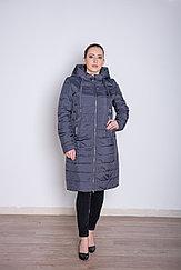 Куртка женская демисезонная  Miegofce длинная серая