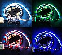 RGBW лента 5 метров + 44кн пульт ДУ + БП полный набор