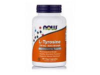 Л-Тирозин, L-тирозин, с повышенной силой действия, 750 мг, 90 растительных капсул