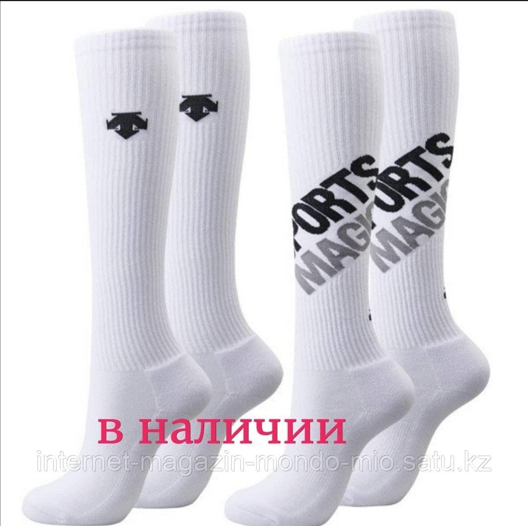 Спортивные женские высокие носки от Descente