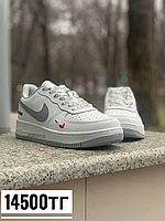 Кеды Nike AF low франция бел сер, фото 1
