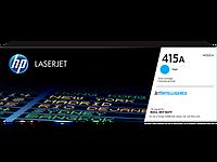 Оригинальный лазерный картридж HP W2031A LaserJet 415A, голубой, 2100 стр.
