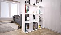 Стеллаж Home Smart Кубический 9 секций, белый (Polini, Россия)