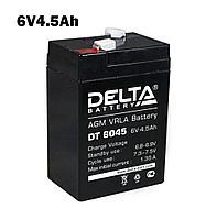 Аккумулятор 6V 4.5Ah для детских электромобилей и электромотоциклов