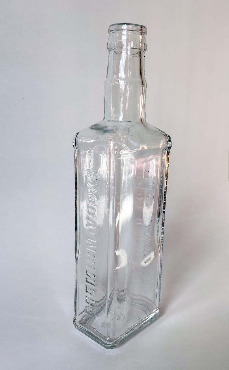 Бутылка квадрат премиум 0,5л гуала