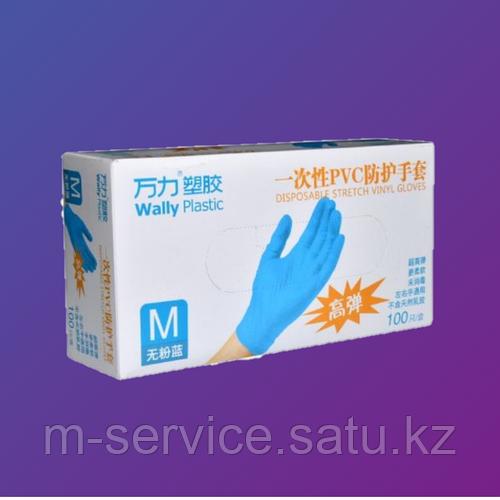 Перчатки нитрил 80% винил 20%,S, M, L, XL смотровые,