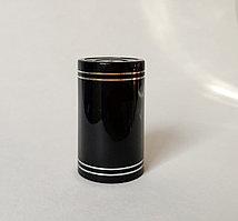 Полимерный колпак черный