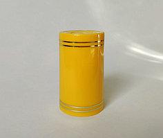 Полимерный колпак желтый