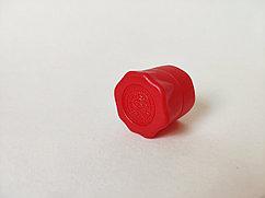 Полимерный колпак В28 красный