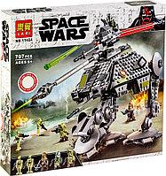 Аналог Lego 75234, Lari 11424 Шагающий танк АТ-AP