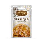 Суп из курицы с уткой и тыквой, Деревенские лакомства