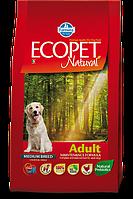 Adult Medium для средних пород с курицей, Ecopet, уп.2,5 кг.