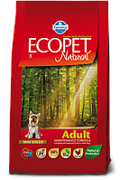 Adult Mini для мелких пород с курицей, Ecopet, уп.2,5 кг.