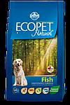 Adult Mini для мелких пород с рыбой, Ecopet, уп.2,5 кг.