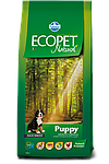 Puppy Maxi для щенков средних пород с курицей, Ecopet, уп.12 кг.