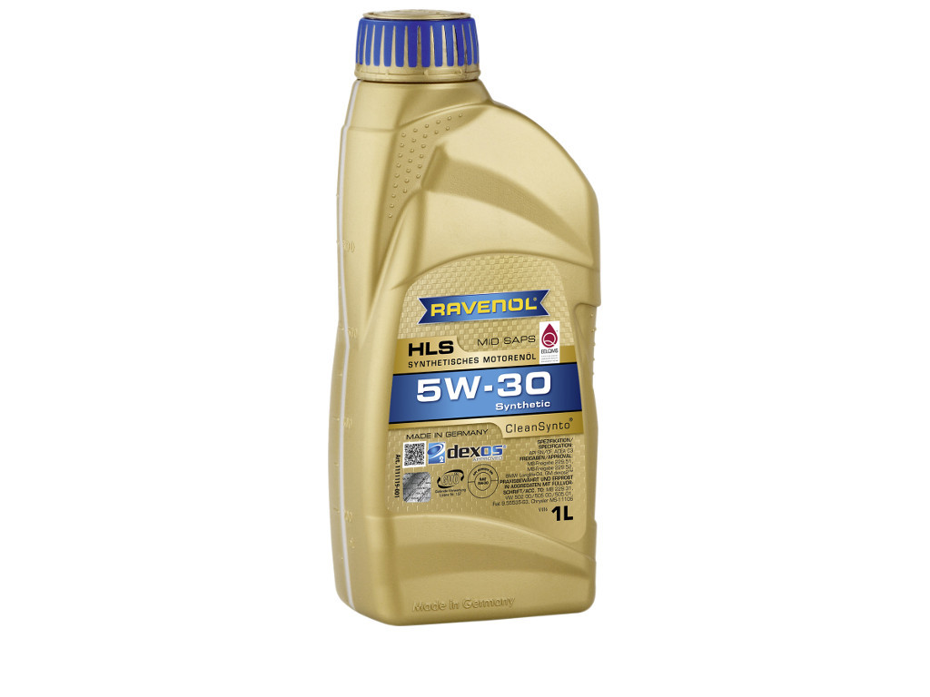 Масло моторное RAVENOL HLS SAE 5W-30, 1 литр