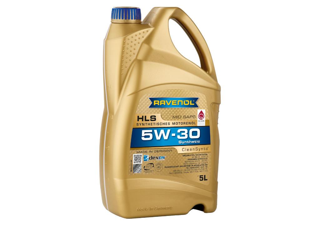 Масло моторное RAVENOL HLS SAE 5W-30, 5 литров