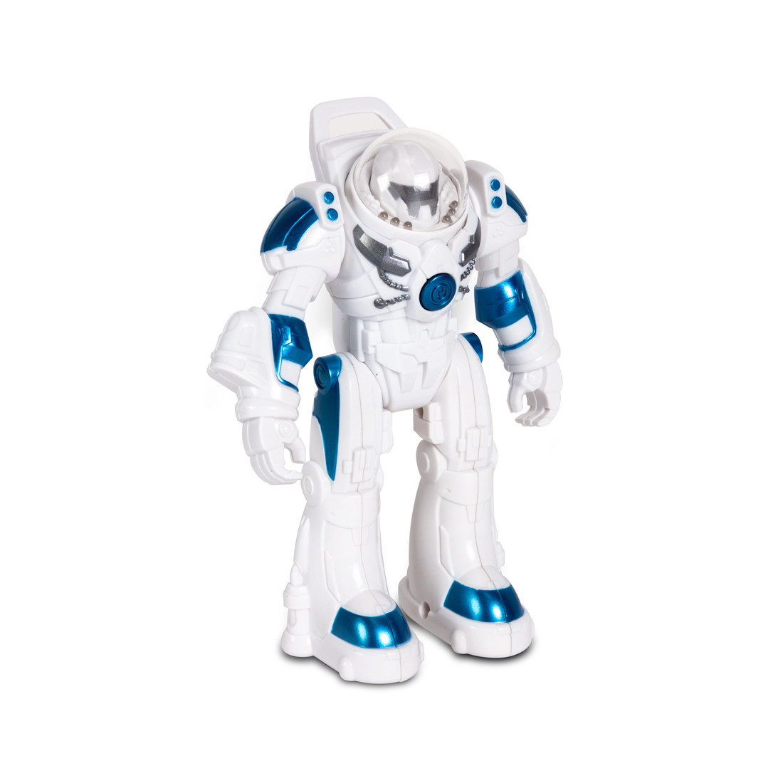 Радиоуправляемый Робот RASTAR 77100W 1:32 RS MINI Robot Spaceman Свет Музыка Движущиеся съемные руки и ноги