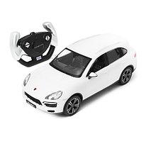 Радиоуправляемая машина RASTAR 42900W 1:14 Porsche Cayenne Turbo Пластик 40 Mhz Белый