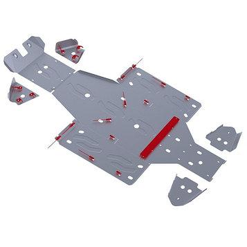 Комплект защит днища Rival для Yamaha UTV Rhino 2011-, 444.7102.1