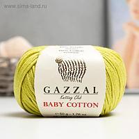 """Пряжа """"Baby Cotton"""" 60% хлопок, 40% полиакрил 165м/50гр (3457)"""