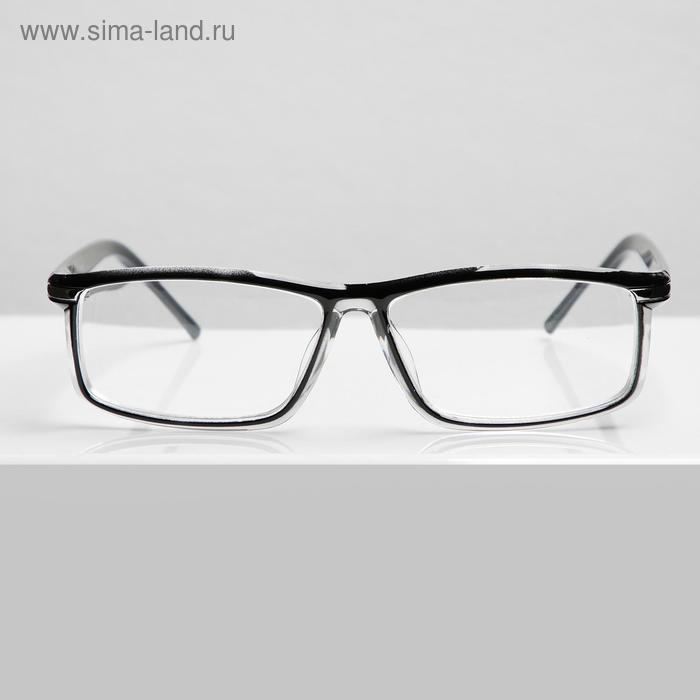 Очки корригирующие FARSI 7722 C1, цвет чёрный -3,5 - фото 1