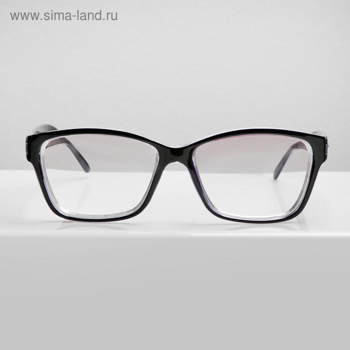 Очки корригирующие BOSHI 5015, цвет чёрный -3, тонированные - фото 1