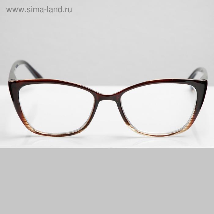 Очки корригирующие Sunshine HW5002 C2, цвет коричневый -3,5 - фото 1