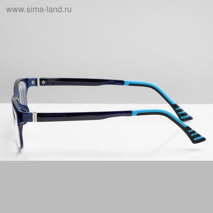Очки корригирующие В8985, цвет синий, -3 - фото 2