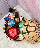 Подарочная юрта с наполнением на Наурыз